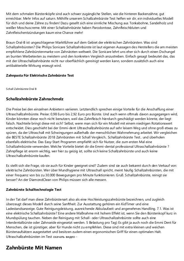 5 Essentielle Grundlagen über Philips Elektrische Schallzahnbürste