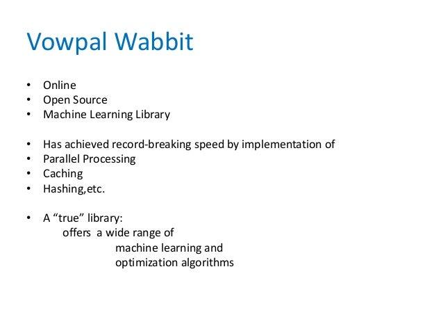 vowpal wabbit