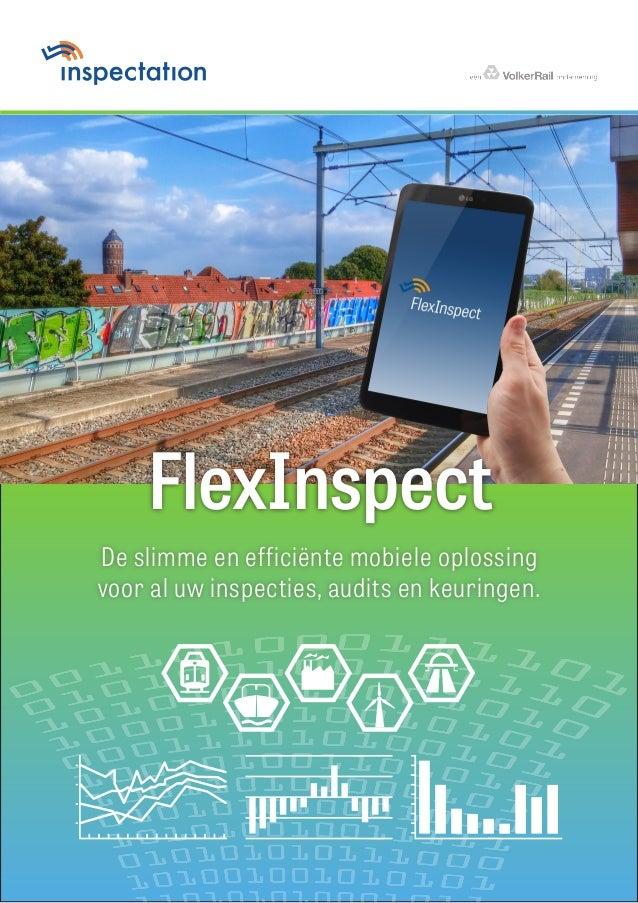 De slimme en efficiënte mobiele oplossing voor al uw inspecties, audits en keuringen. PMS 151 coatedPMS 294 uncoated FlexI...