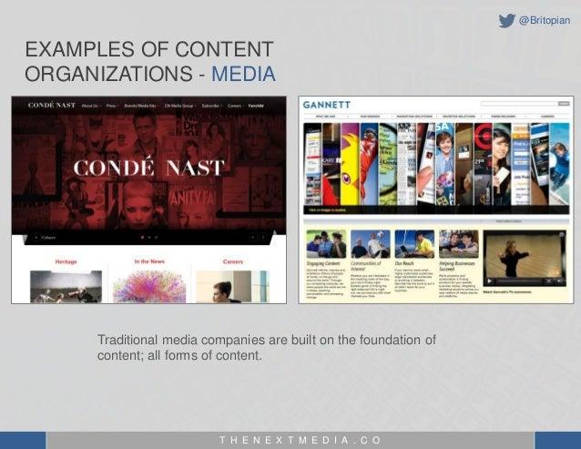 The Evolution of a Content Organization - MIchael Brito Slide 2