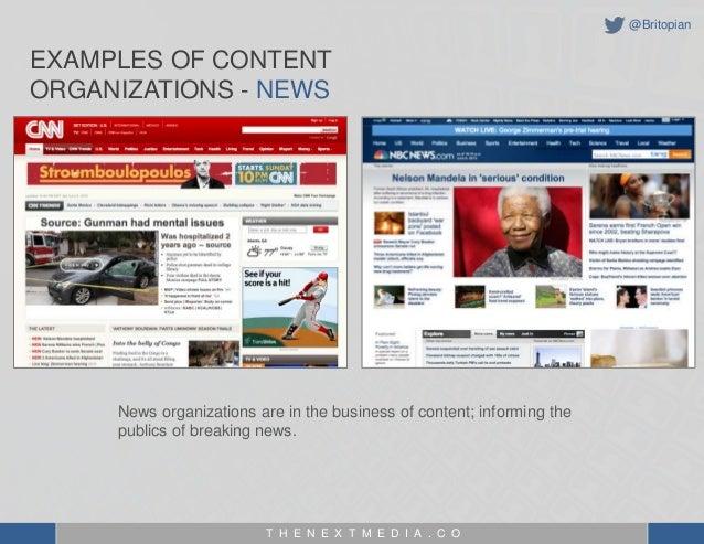 The Evolution of a Content Organization - MIchael Brito Slide 3
