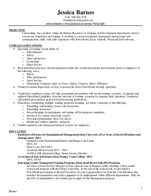 Help Me Write Economics Papers Custom Personal Statement - Training and development resume sample