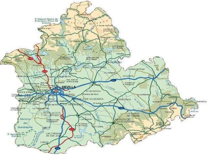 Mapa Provincia De Sevilla Para Imprimir.28 De Febrero Dia De Todos Los Andaluces