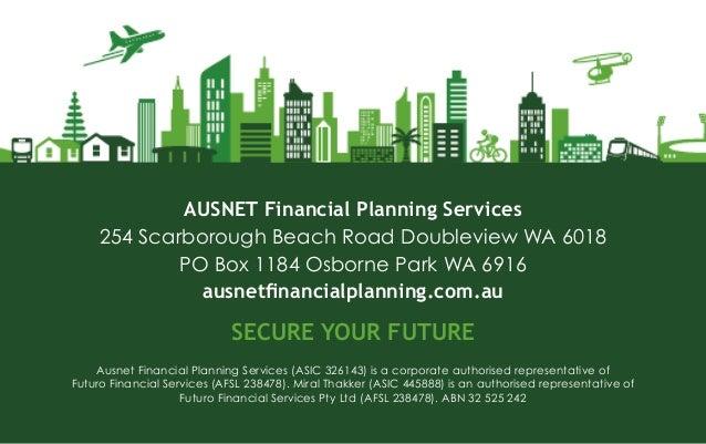 Ausnet Financial Planning Business Card