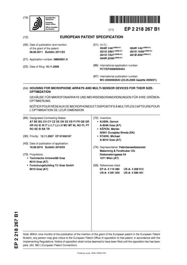 EP2218267B1