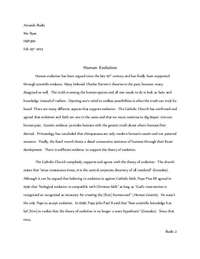 Evolution essays essays on the importance of education