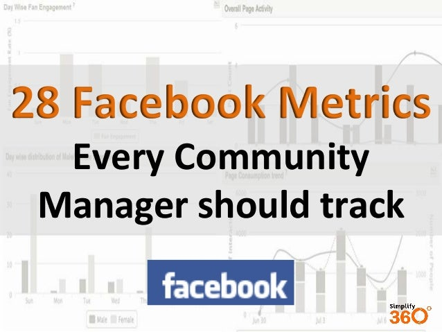28 Facebook Metrics Every Community Manager should track
