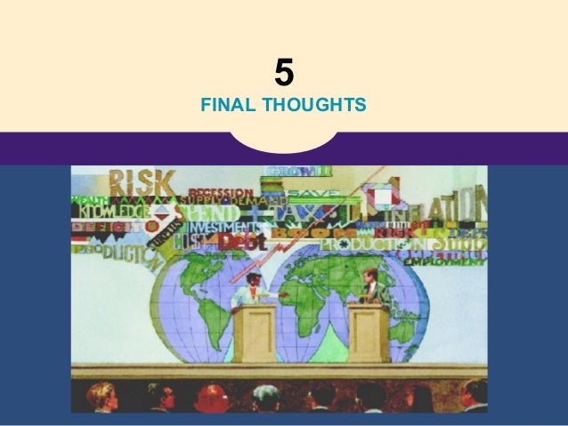 5 FINAL THOUGHTS