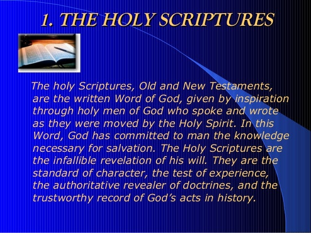 The Holy Spirit: Author of Scripture