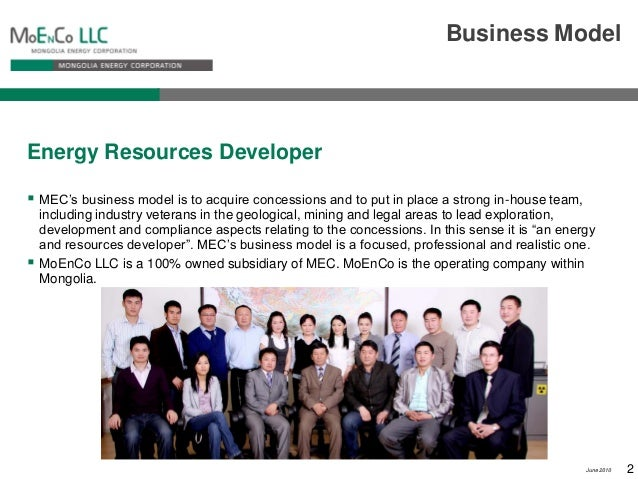Energy resources mongolia mining corporation