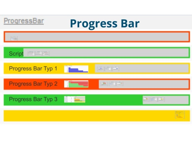SharePoint Lesson #28: Visualisation of a Progress Bar