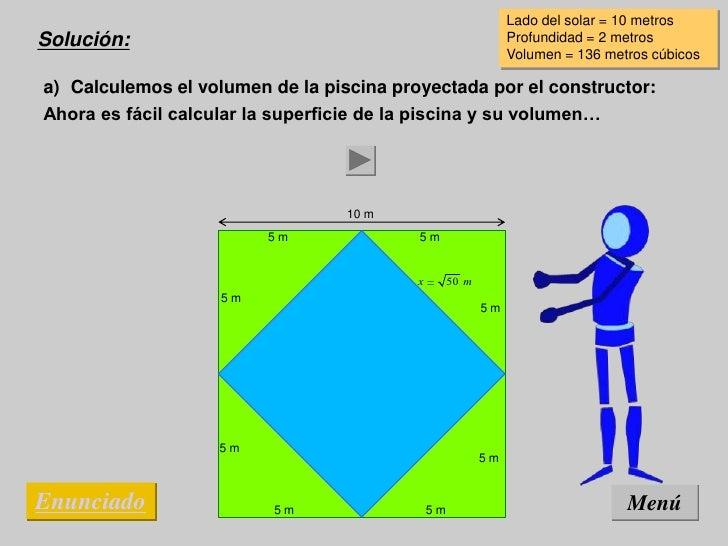 28r5 for Calcular volumen piscina