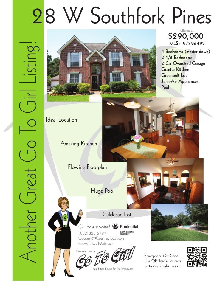 28 W Southfork Pines                                                                   offered atAnother Great Go To Girl ...