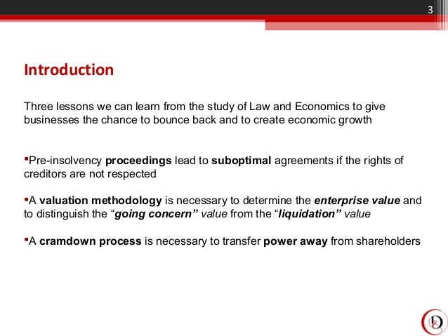 29 03 - EU insolvency law - Lessons from France