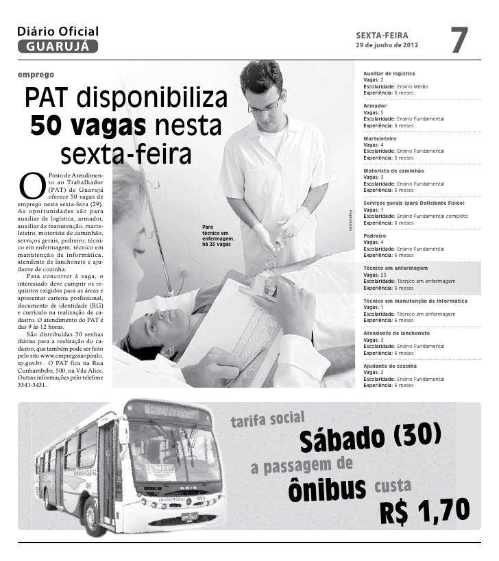 Diário Oficial GUARUJÁ                                                                           sexta-feira              ...