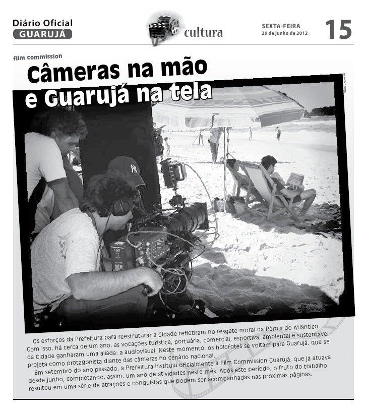 Diário Oficial GUARUJÁ                                                        cultura                                     ...