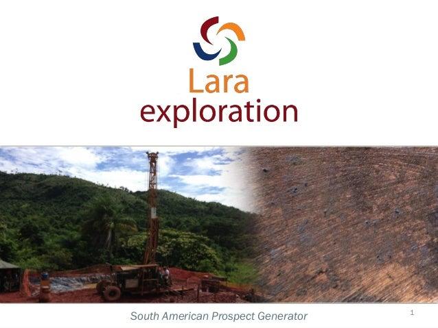 South American Prospect Generator 1