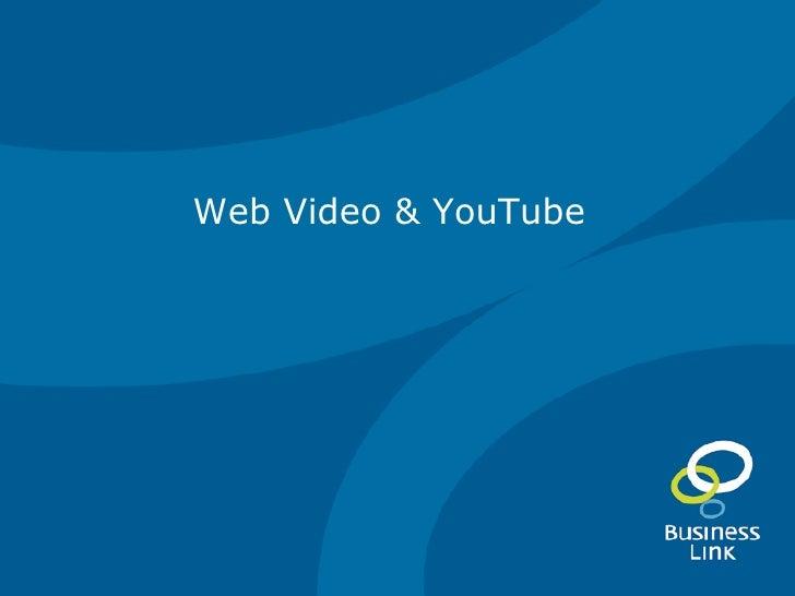 Web Video & YouTube