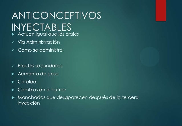 29. Anticonceptivos Hormonales (07/Oct/2013)
