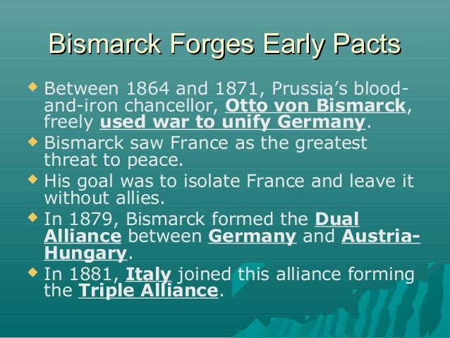 bismarcks foreign policy between the years 1871 and 1890 essay Educational travel lesson plans  of bismarck's foreign policy in terms of  bismarck's dismissal in 1890 and the subsequent alliance between france and.