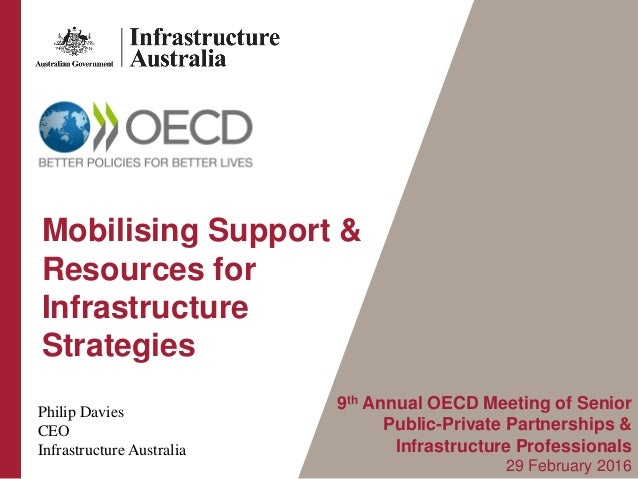 9th Annual OECD Meeting of Senior Public-Private Partnerships & Infrastructure Professionals 29 February 2016 Philip Davie...