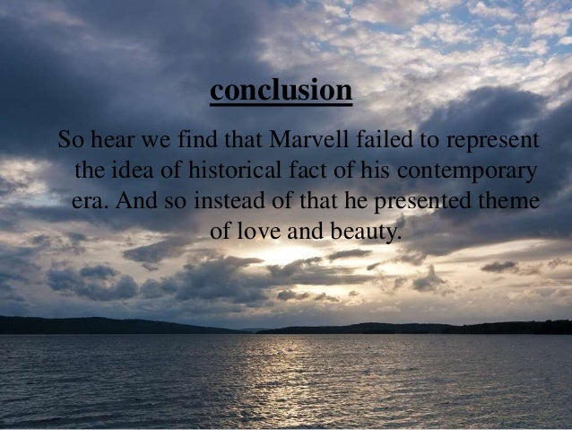 andrew marvell to his coy mistress analysis pdf