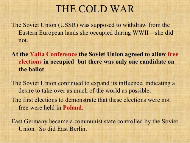 Which Yalta Conference Agreement Was Never Fulfilled Choice Image