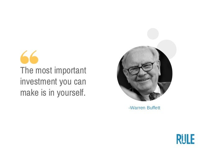 29 Warren Buffett Quotes On Investing & Success