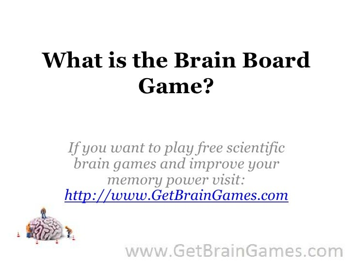 What is the Brain Board Game?<br />If you want to play free scientific brain games and improve your memory power visit: ht...