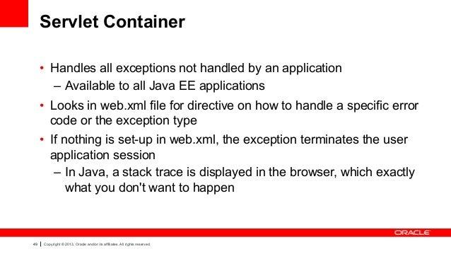 Oracle ADF Architecture TV - Development - Error Handling