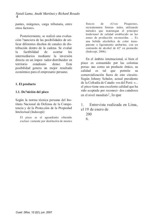 Natali Lama, Anahí Martínez y Richard Rosado 4 pantes, márgenes, carga tributaria, entre otros factores. Posteriormente, s...