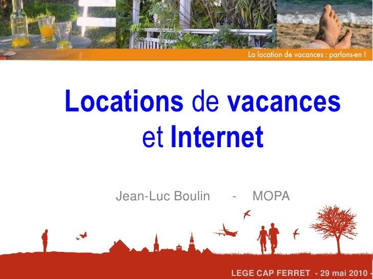 Location de vacances et Internet