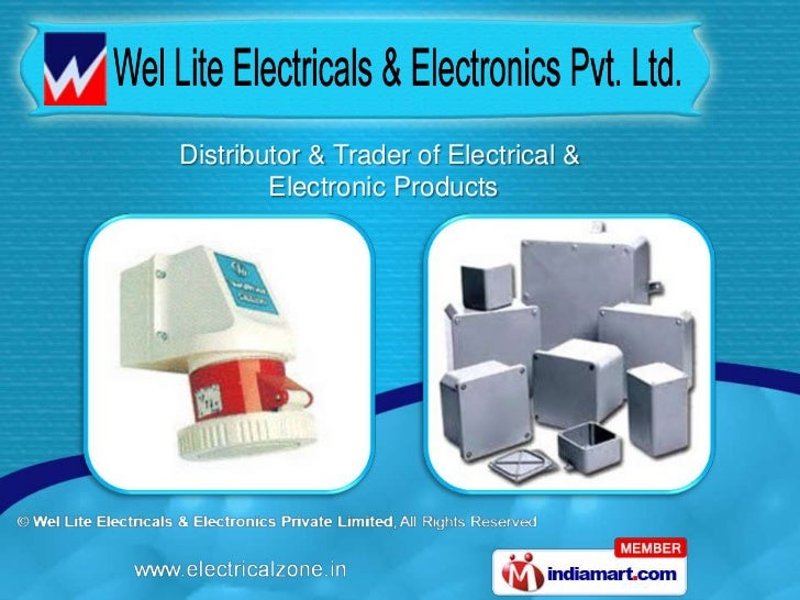 Distributor & Trader of Electrical &        Electronic Products