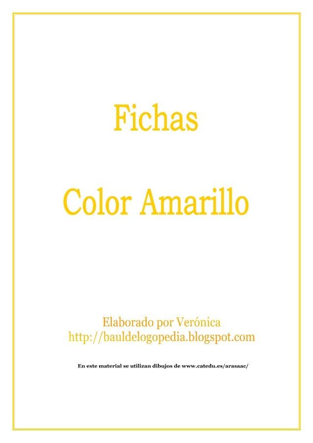 29088613 Fichas Color Amarillo