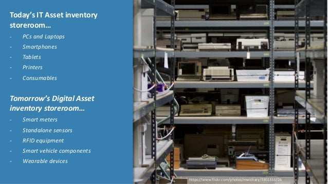 © Copyright 9/10/2015 BMC Software, Inc14 Today's IT Asset inventory storeroom… - PCs and Laptops - Smartphones - Tablets ...