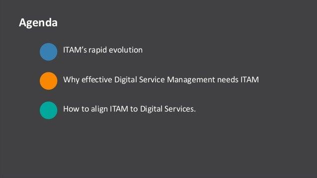 © Copyright 9/10/2015 BMC Software, Inc2 Agenda ITAM's rapid evolution Why effective Digital Service Management needs ITAM...