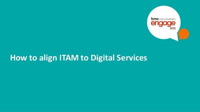 © Copyright 9/10/2015 BMC Software, Inc21 How to align ITAM to Digital Services