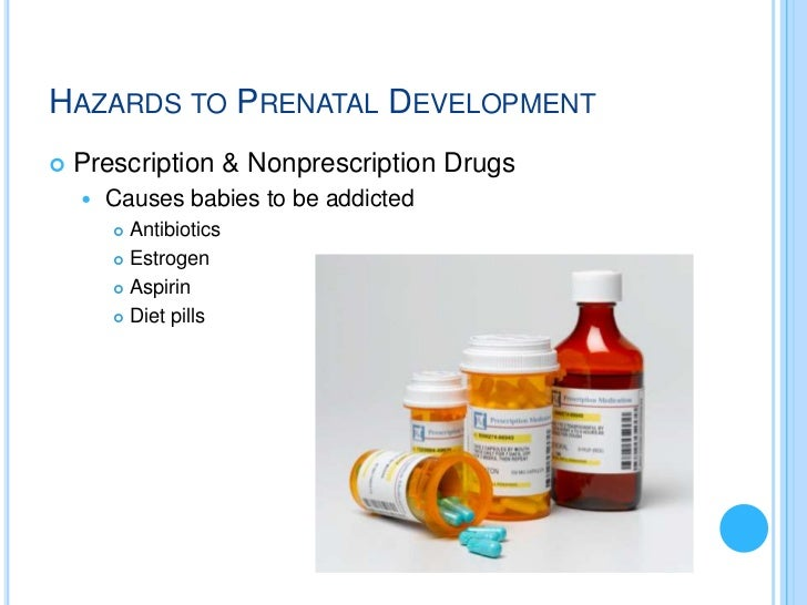 hazards during prenatal development Risk factors in the perinatal period include pregnancy-related complications,  maternal infection during pregnancy transmits the rubella virus to the fetus, causing  is a problem for all workers and particularly hazardous for pregnant women.