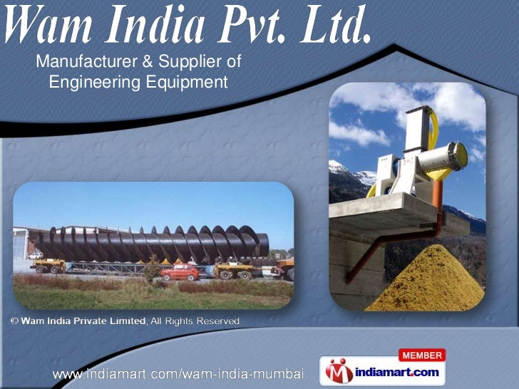 Manufacturer & Supplier of Engineering Equipment