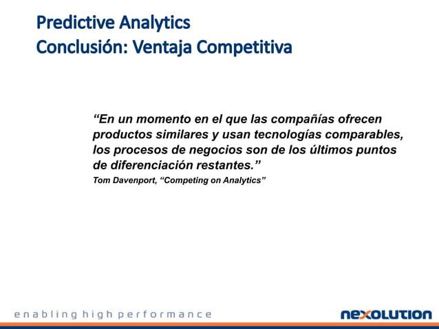 Análsis de clientes: ¿Cómo satisfaccer las necesidades en constante evolución de sus clientes con información predictiva?