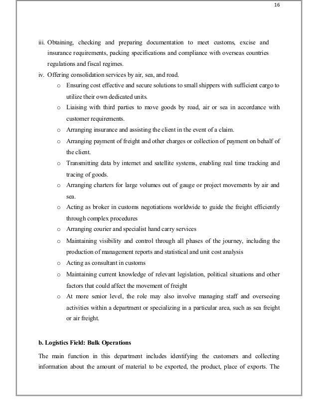 Logistics-project-report