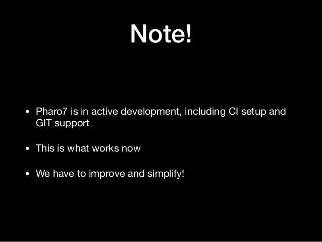 PharoTechTalk: Contributing to Pharo Slide 3