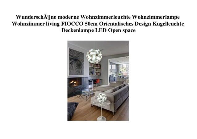 Wunderschöne moderne Wohnzimmerleuchte Wohnzimmerlampe Wohnzimmer living FIOCCO 50cm Orientalisches Design Kugelleuchte De...