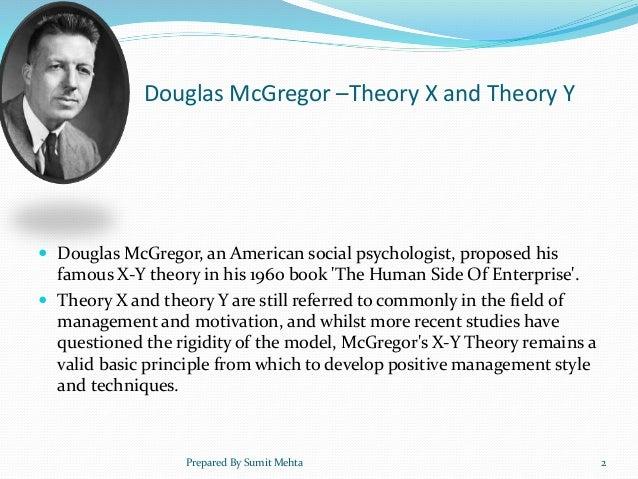 Douglasmcgregor And Willimaoouchitheory X Y Zsumitmehta