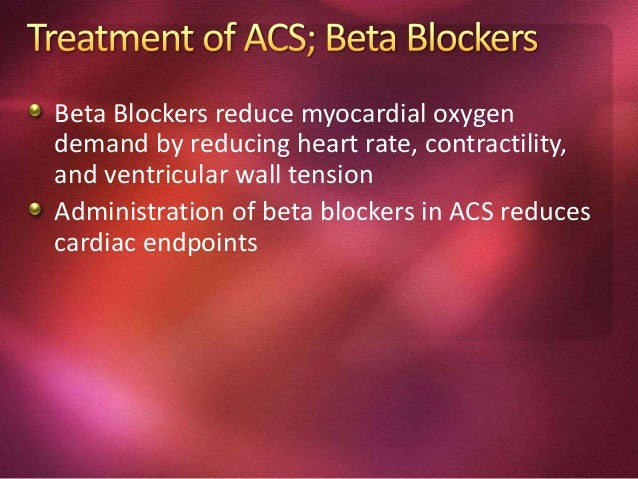 All patients with acute coronary syndromes should be treated with a combination of ASA (325 mg/day) and heparin (bolus fol...