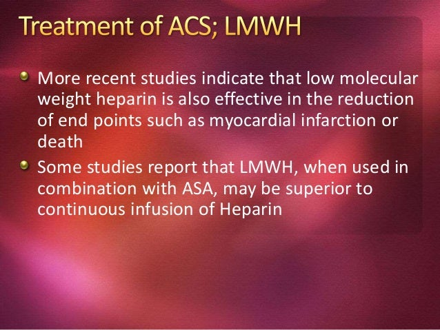 Statins may be of benefit in ACS Possible mechanisms include plaque stabilization, reversal of endothelial dysfunction, de...