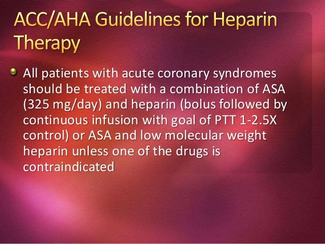 Age >65 yrs Daily ASA Therapy (>7 days prior to event) Symptoms of Unstable Angina Documented CAD (stenosis > 50%) 3 or mo...