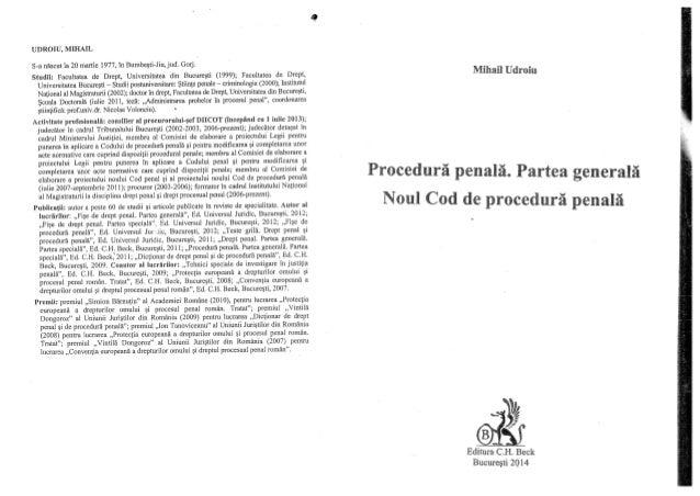 Noul Cod De Procedura Penala 2014 Pdf