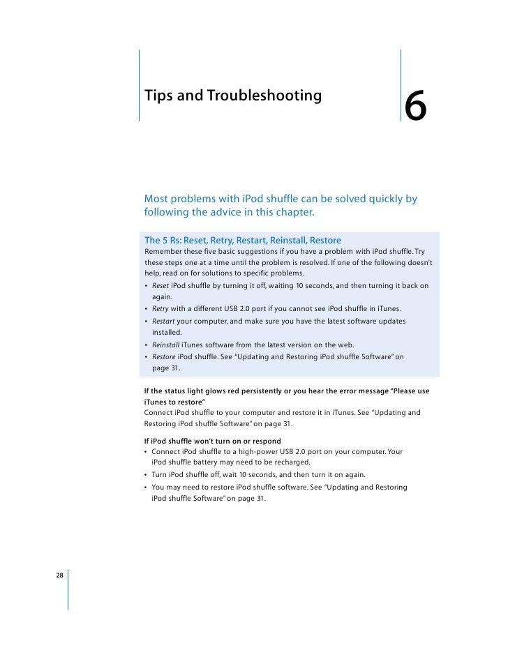 ipod shuffle 3rd gen user guide rh slideshare net iPod Nano 7th Generation iPod Shuffle 1st Generation