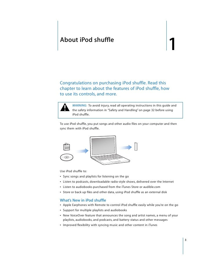 ipod shuffle guide product user guide instruction u2022 rh testdpc co Apple iPod Repair iPod Mini User Manual